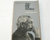 You Are The World By J. Krishnamurti, Vintage Book