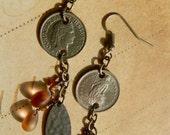 Coin Dangle Earrings