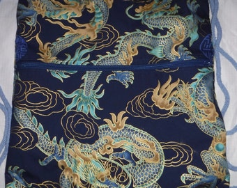 Elemental Dragon: 2 in 1 Bag/Backpack