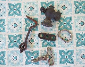 FUN Lot of Vintage Hardware Bits n' Bobs