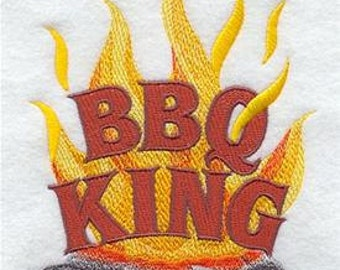 Bib apron with pockets for the barbecue king in your life