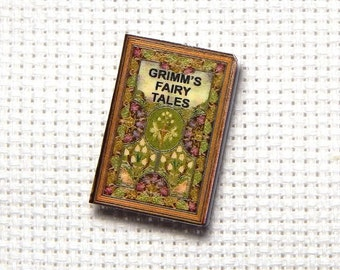 Needle Minder Needle Buddy Grimms Fairy Tales Grimms Brothers Miniature Book 1 Inch