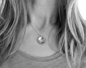 Lotus Necklace, Lotus Pendant, Lotus Yoga necklace, meditation necklace, Meditation Jewelry, Spiritual Necklace, Lotus Flower Charm,handmade