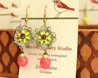 50% off Bright Friligree Earrings - Summer Earrings