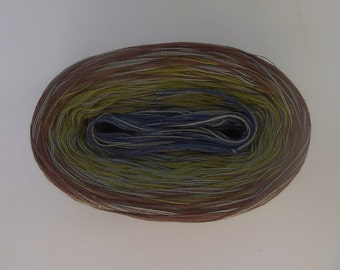 GLOBAL MEDLEY 2 -- Sport Weight -- Color Changing Cotton yarn (100 gr /320 yards)