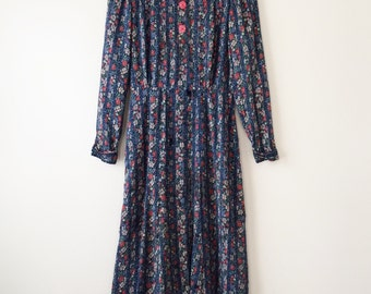 1930s cotton dress - as is