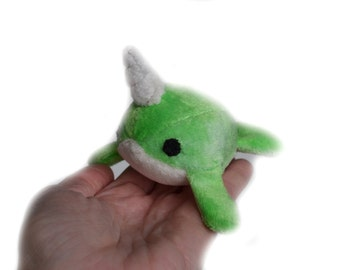 Miniature Narwhal Plush Toy
