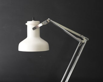 vintage dazor floating arm lamp / architectural desk lamp