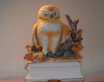 Towle Owl Music Box