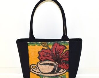 Burlap and Canvas - Rare Out of Print Recycled Coffee Bag