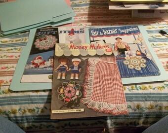 Vintage Crochet Leaflets