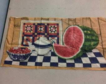 Watermelon and Cherries Fabric 244573