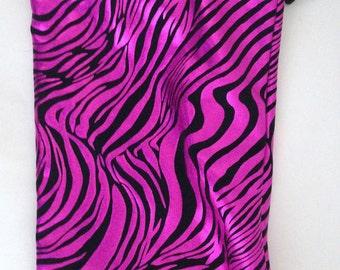 Fuchsia Stripes Gymnastics Grip Bag