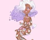 A4 Bunny Tattooed Lady