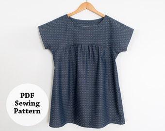 Ryan Top (PDF Sewing Pattern) Women's Apparel