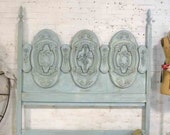 Painted Cottage Chic Shabby French Vintage Romantic QUEEN BD756