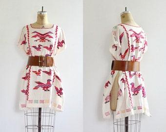 vintage 1970s Poncho • Ethnic • 70s bohemian dress • cape