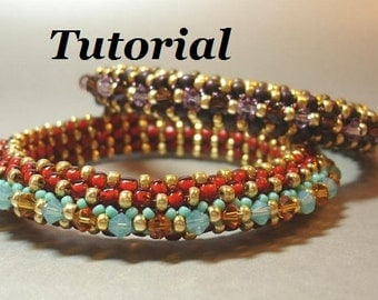 Tutorial for Crystal Spangled Bangle