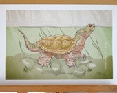 Snapping Turtle (11x17)