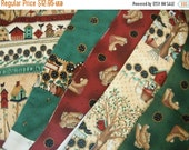 Quilting n Crafting fabrics--Collection of 5 prints 2 1/2 yds  HARD FIND
