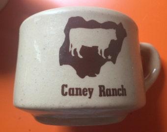 Coney Ranch Diner Mug Gently Used c. 1950 Era Coffee Cup Vitrified China