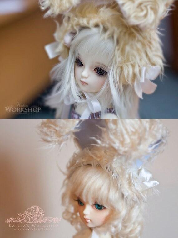 cute BUNNY EARS for YoSD msd sd super dollfie dolls volks