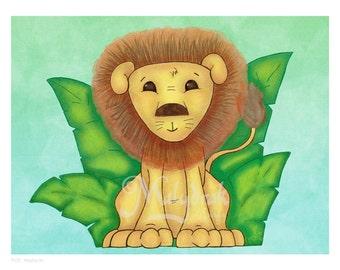 Little Lion - Art Print