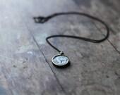 Vintage Buffalo Nickel necklace