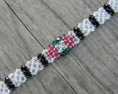 Art Deco Inspired Swarovski Bracelet