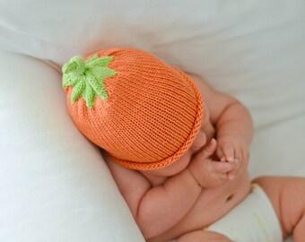 Pumpkin Baby Hat Pattern