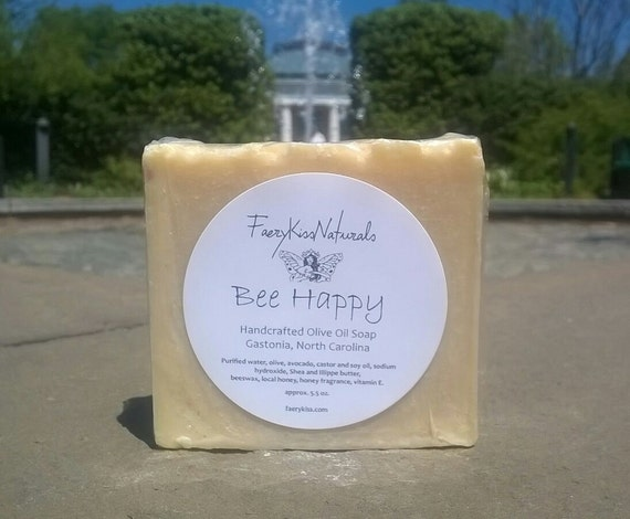 Honey Beeswax - Rustic Olive Oil Soap