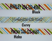 Personalized Dog Collar Add-on This is for EMBROIDERY ONLY Embroidered Dog Collar Tagless