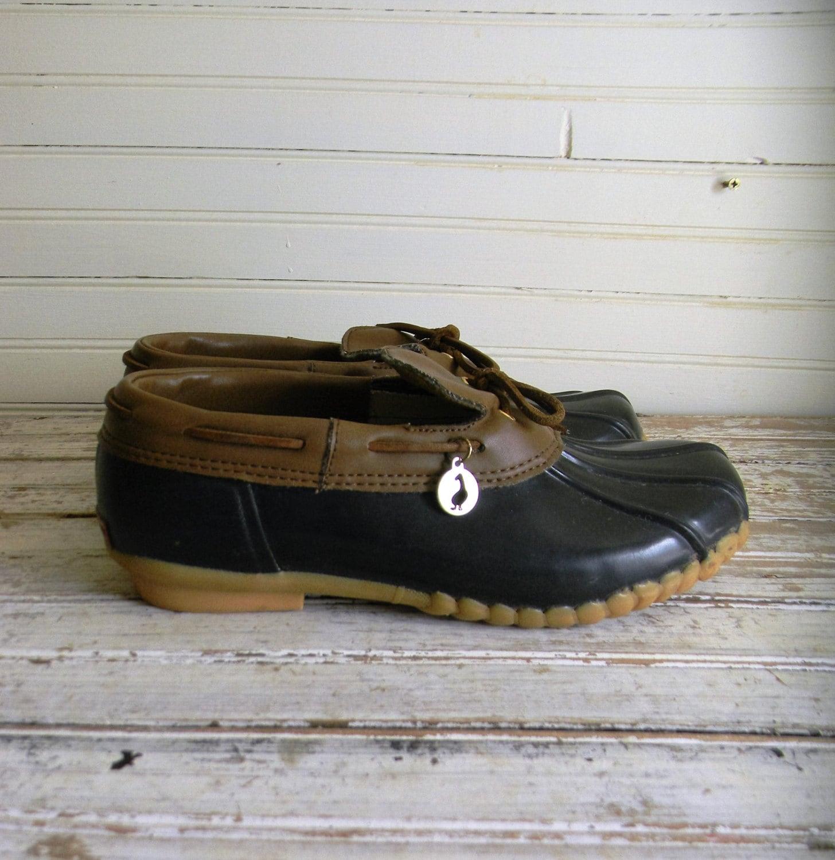 Vintage Duck Shoes Rain Womens Rubber LL