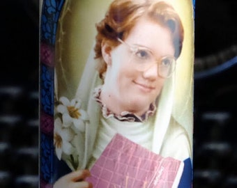 Saint Barb Prayer Candle / Stranger Things / What would Barb do?
