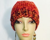Gorgeous Red Knit Hat