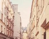 """Paris Photography // Paris Prints // Paris Architecture // Travel Photography // Square Format Prints // Europe  - """"Paris Alley"""""""