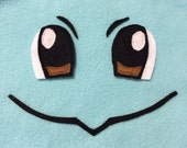 Squirtle Face Applique