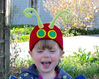 Caterpillar Antenna Headband - the best way to become a Beautiful Butterfly!