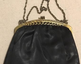 Vintage Black clutch purse