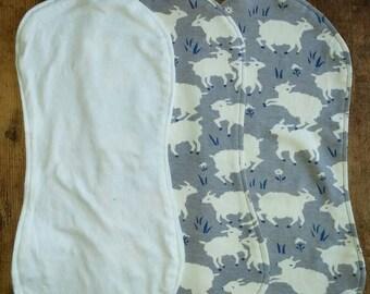 Gray Sheep Organic Burp cloth