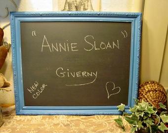 Large Wall Chalkboard - Chalk Board - Wedding Board - Photo Shoot Prop - Wall Art - New Annie Sloan Paint Color