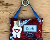 Personalized tooth fairy pillow,Spiderman tooth fairy pillow,Spiderman,Tooth fairy pillow,Boy tooth fairy pillow,----SHIPS NEXT DAY
