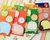 Fusen Animal Memo Timing Note cute cartoon sticker notes