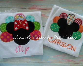 Thanksgiving Mickey Minnie Shirt - Turkey Mickey Minnie Mouse Shirt - Thanksgiving Disney Shirt