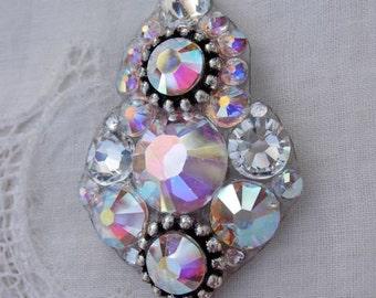 Big Fancy Pants Crystal Bindi - swarovski crystal tribal fusion bindi belly dance bindi