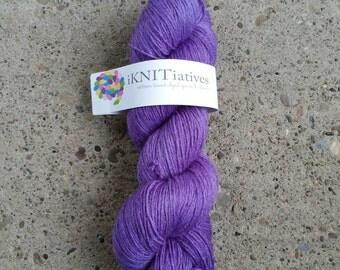 Hand-dyed Sock Yarn - SW Merino/Nylon/Bamboo sock yarn - 459 yds. /100 g