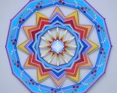 Born of Fire, a Custom-made 36-inch Ojo de Dios