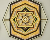 Wild Honey Pie, an 18 inch, 8-sided Ojo de Dios, by custom order