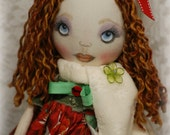 On SaLe NOELLE Art Doll  OOak Christmas Holiday Decoration Collectible winter Gift handcrafted tall