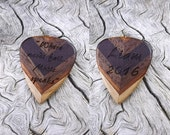 Custom Order - Handmade Multi-Wood Laser Engraved Premium Guitar Pick